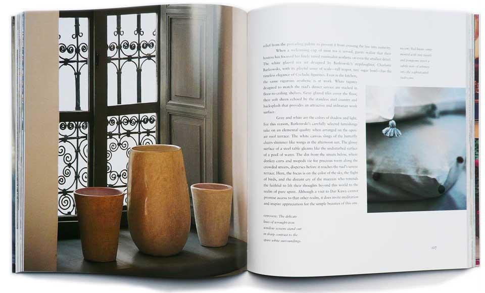 Dar Kawa fait les pages de beaux livres