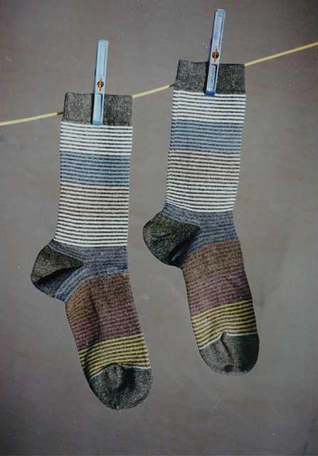 Sock Curriculum Vitae by Valérie Barkowski