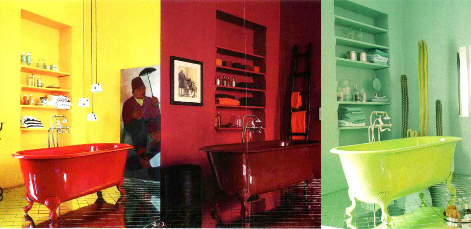 yellow-red-green-colors-bathroom-marieclaire-maison-press-2005