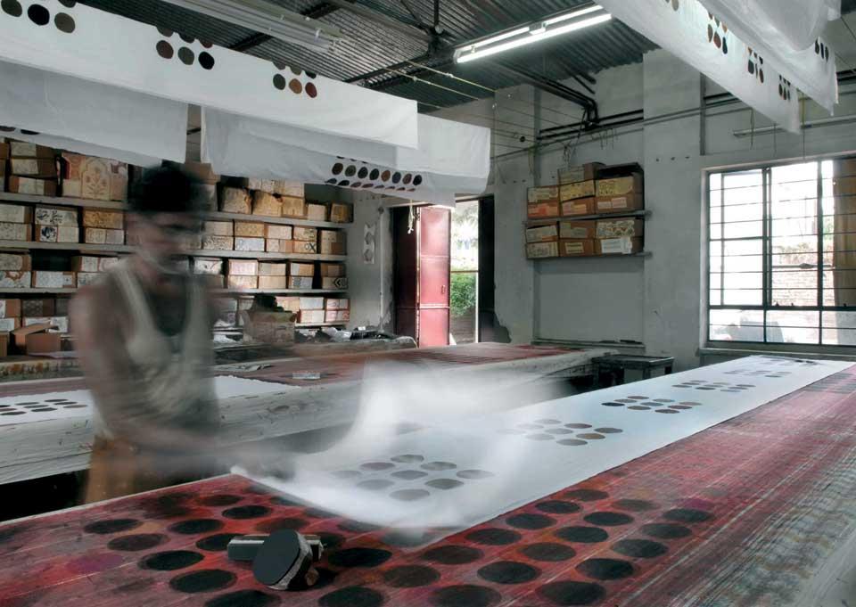 Blockprint in Jaïpur - Valérie Barkowski