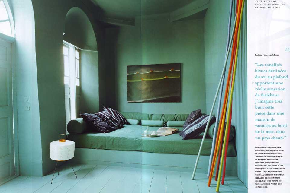 couleur valerie barkowski reportage marie claire maison 4