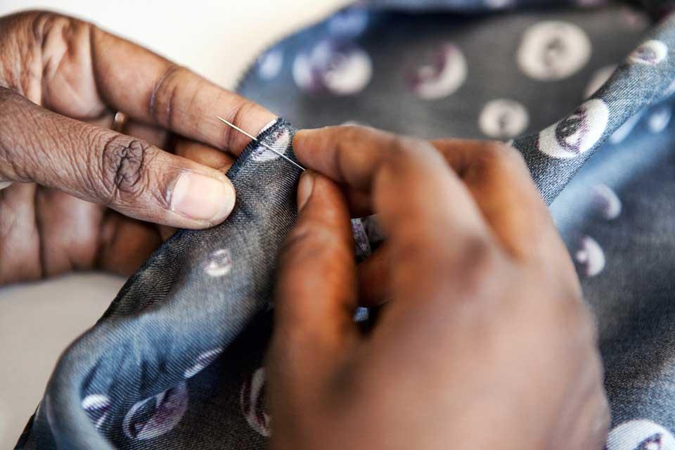 hand sewn hems bandit queen