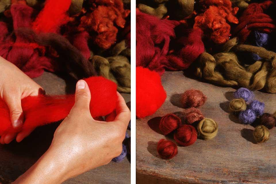 Le feutre, un art ancien - by Valérie Barkowski