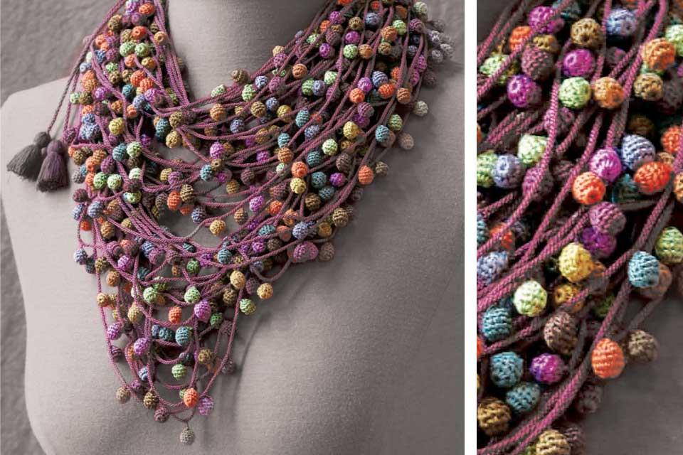 Colliers inspirés de la culture Maasai - by Valérie Barkowski