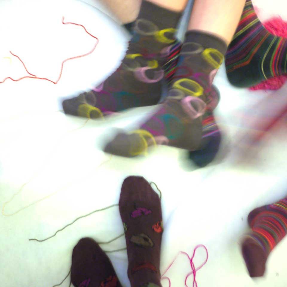 La famille chaussettes Sokistan by Valérie Barkowski