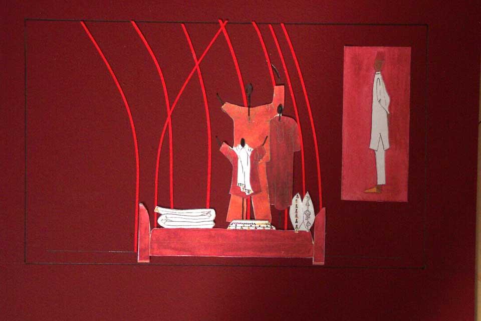 Franck & Fils Paris 2003 - Scénographie Mia Zia de Valérie Barkowski