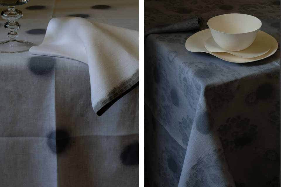 bandit queen design valerie barkowski table linen