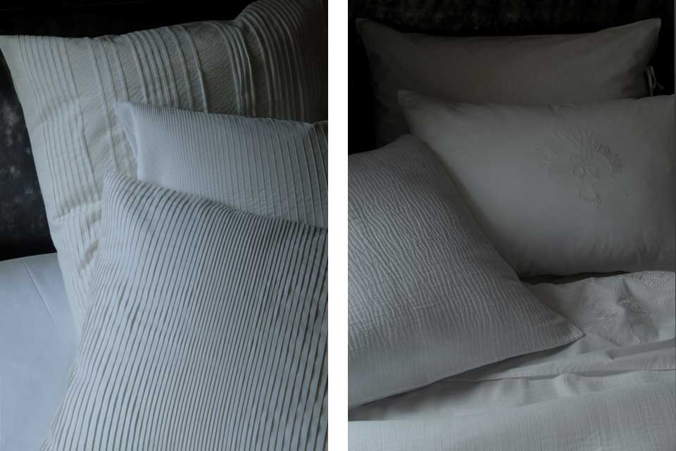 Le linge de lit dans la chambre des murmures de la marque Bandit Queen