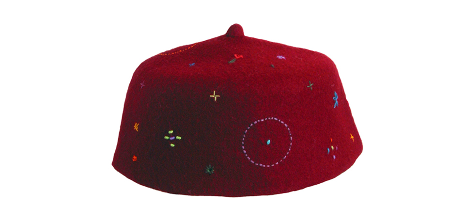 fez hat embroidery tarbouche broderie
