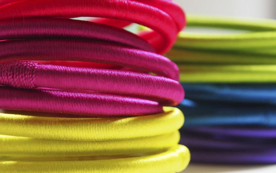 Maasaï bracelets by Valérie Barkowski - Archives