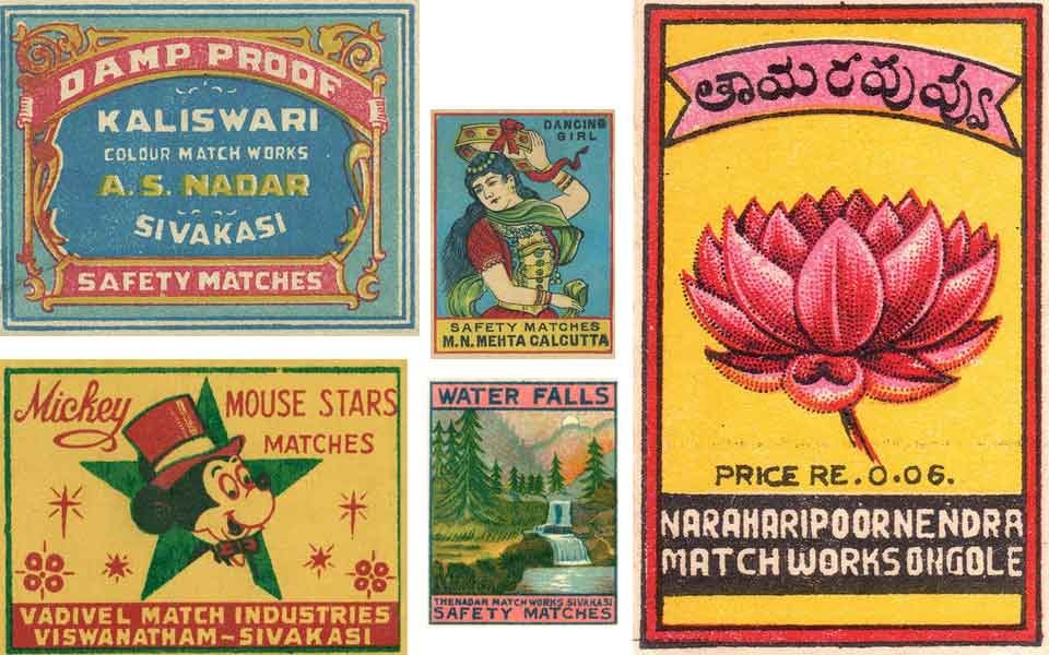 Indian matchbox - Inspiration for Valérie Barkowski