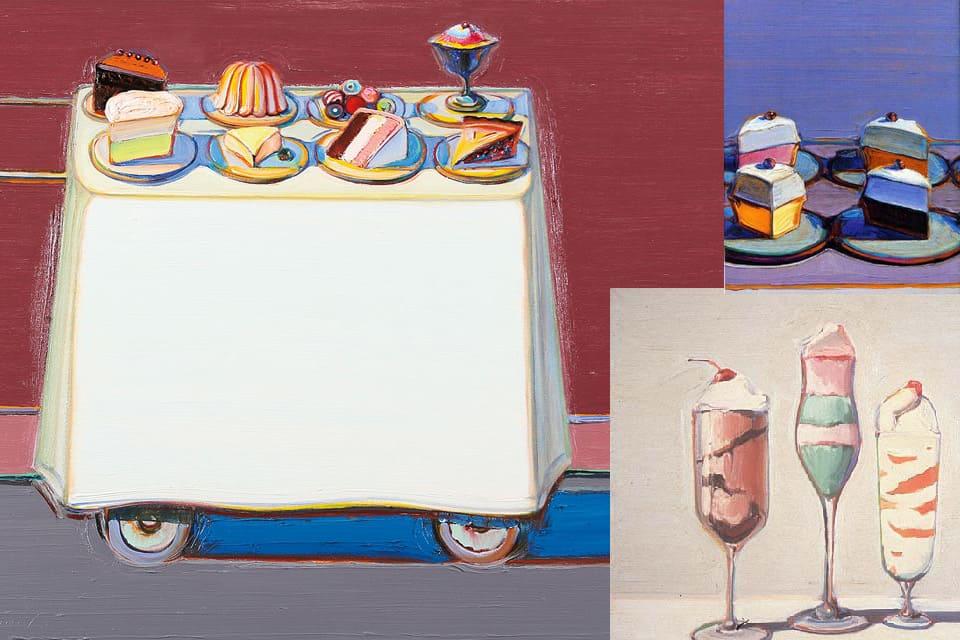 Sweet Paintings by Wayne Thiebaud - Inspiration for Valérie Barkowski