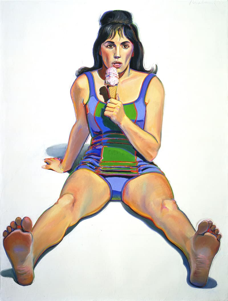 inspiration wayne thiebaud sugar paintings