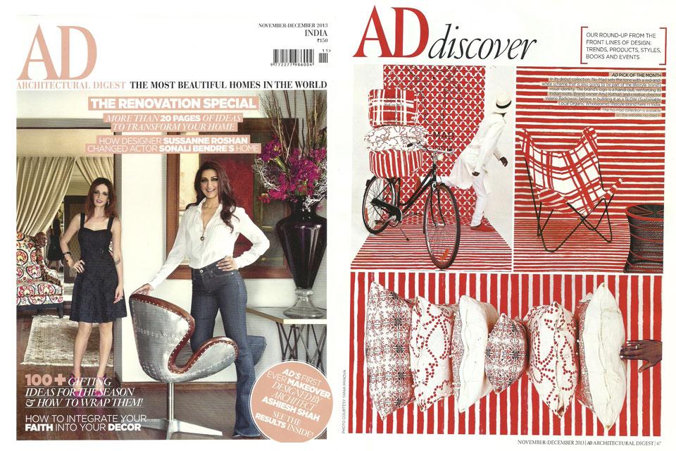 No-Mad dans la presse...Elle Décor & AD India