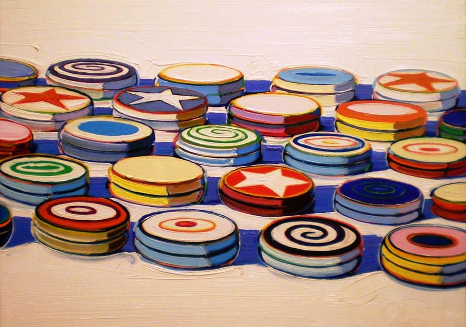 sweet paintings by wayne thiebaud   inspiration for