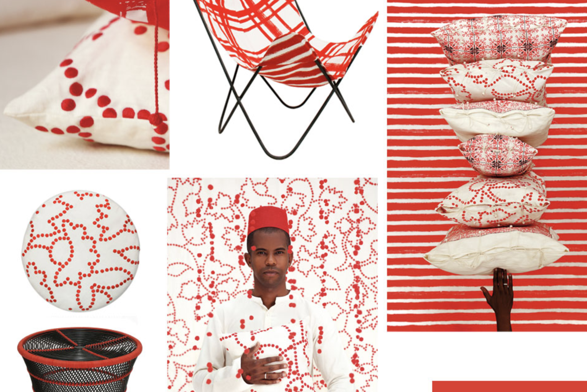 no mad red collection artdirection valeriebarkowski