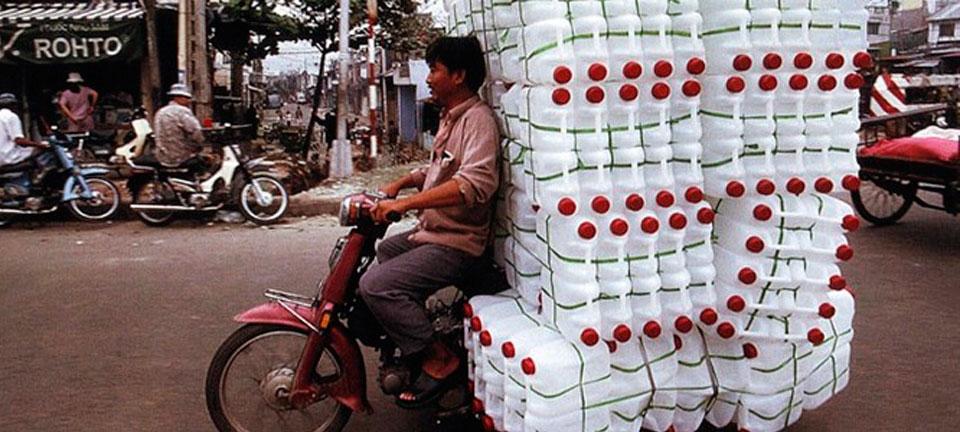 """Bikes of burden"" by Hans Kemp - Inspiration for Valérie Barkowski"
