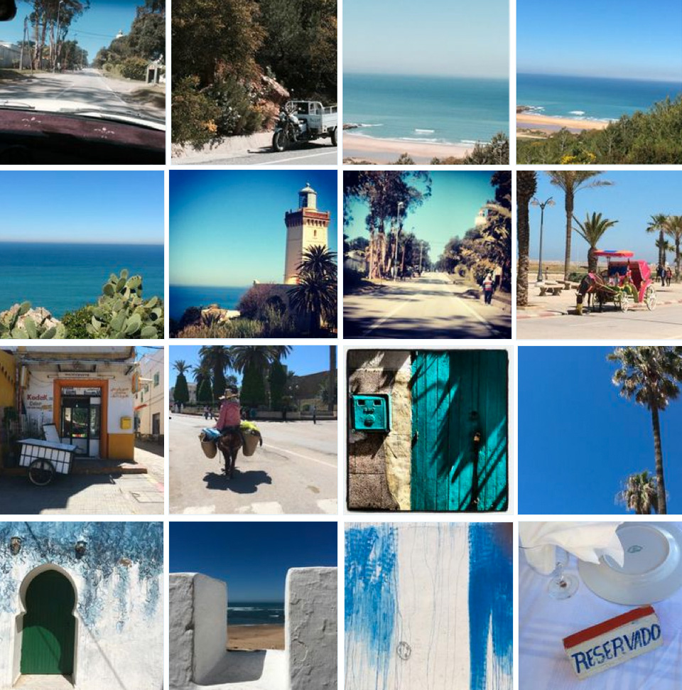 Carnet de voyage de Valérie Barkowski: Asilah - Maroc