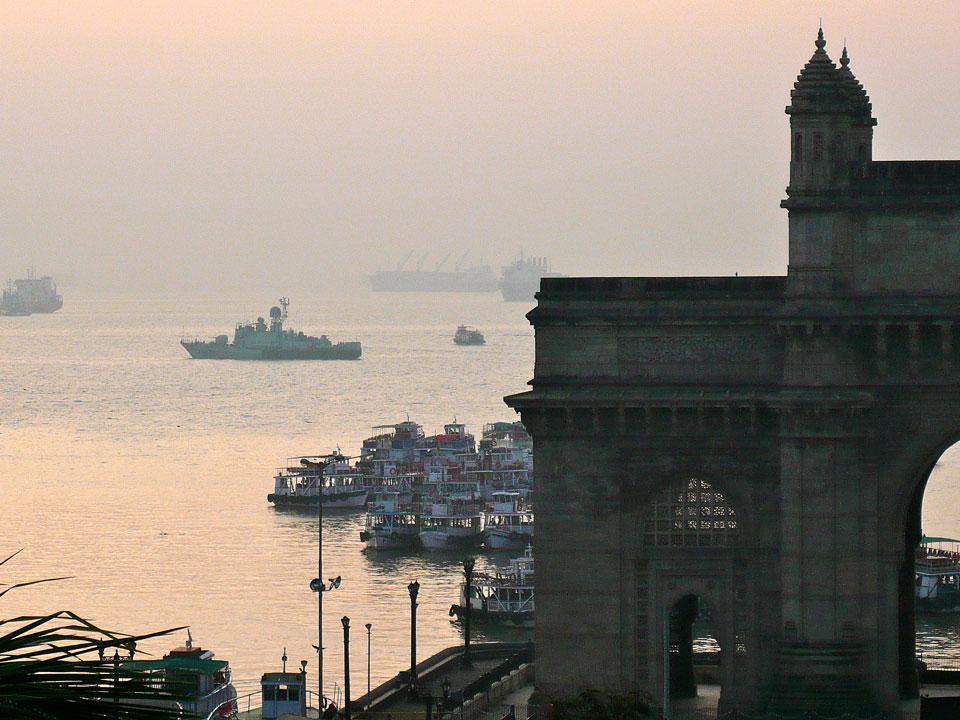La vie et la vue du Mumbaï Royal Yacht Club