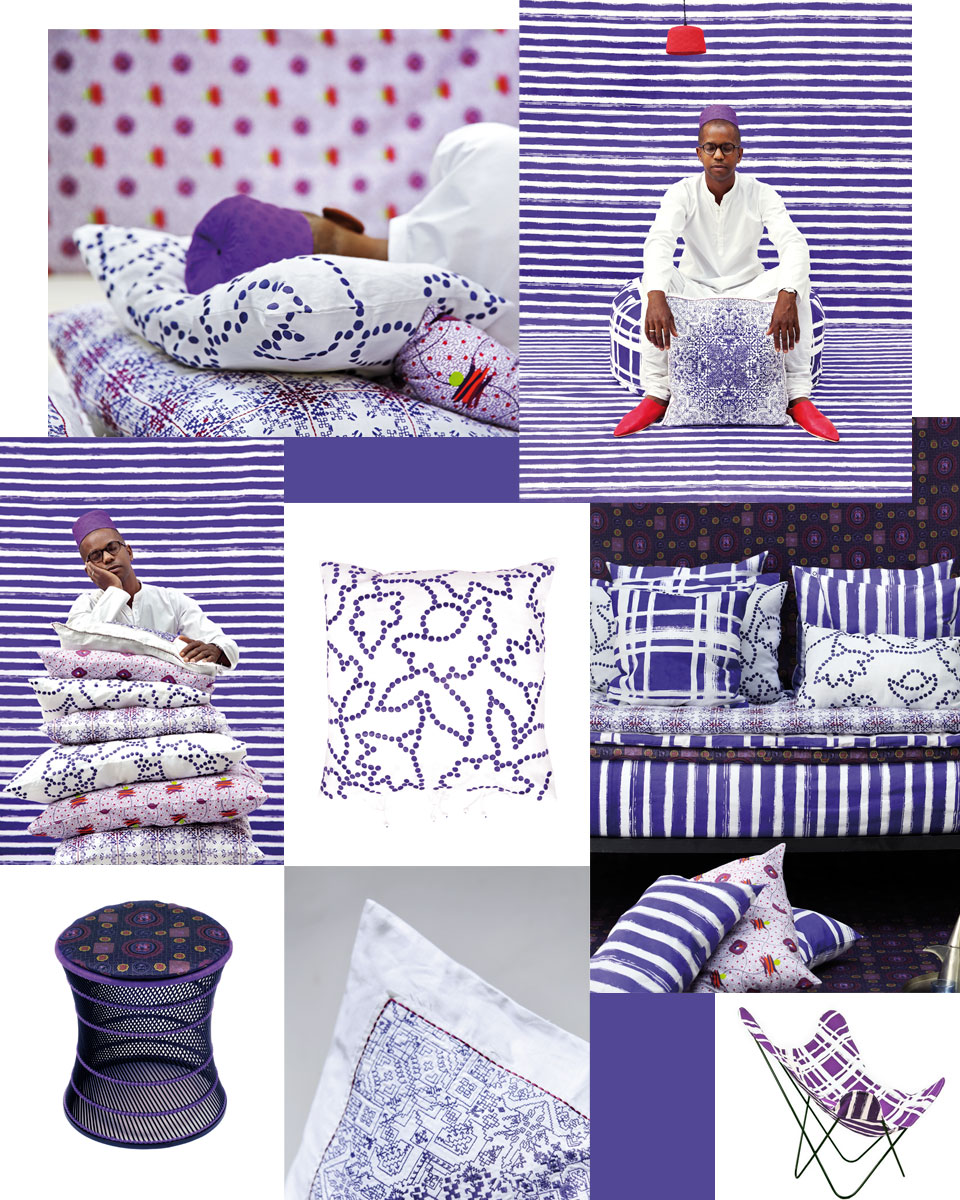 The purple collection from No-Mad 97% India