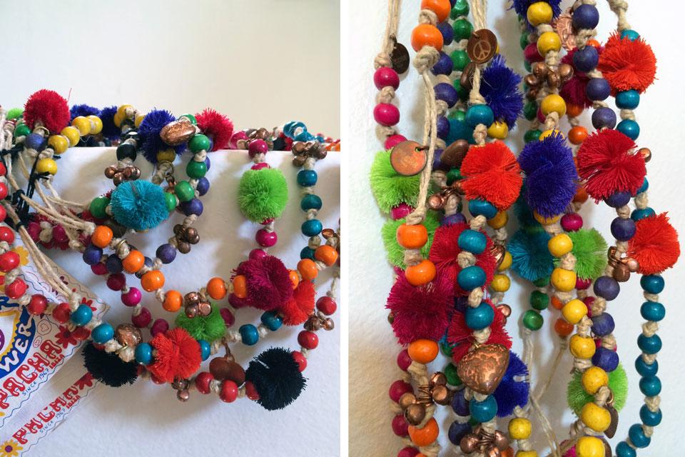 Bijoux Flower Power en vente à Ibiza - by Valérie Barkowski