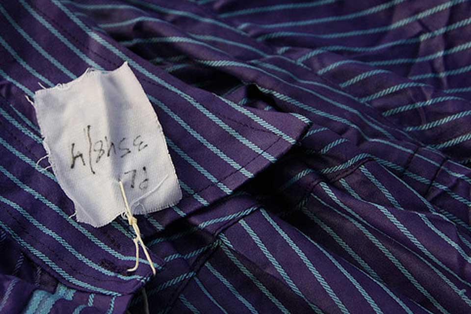tags textile