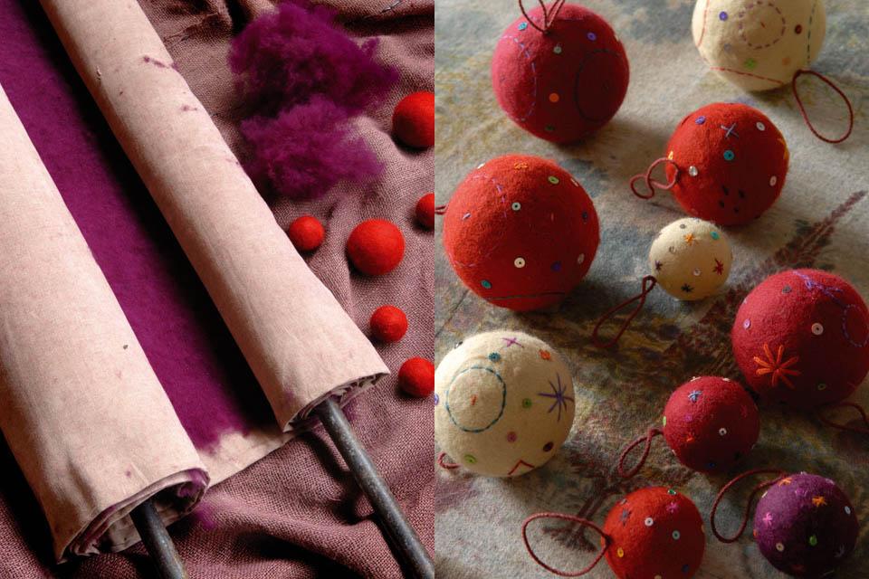 red-felt-rug-artisan-handmade-jaipur-india