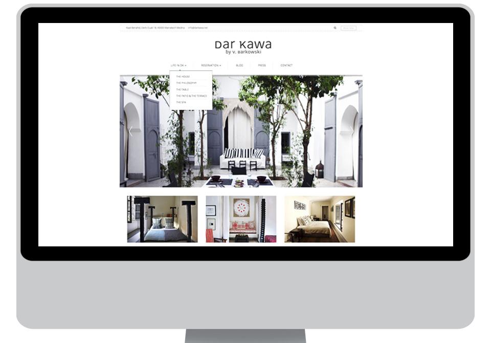 new web site dar kawa riad