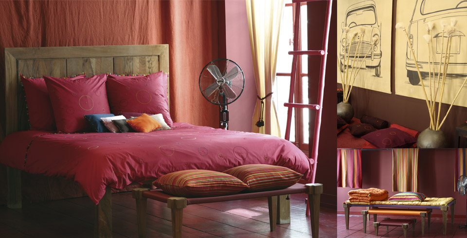 orange-pink-between-colors-bed-room