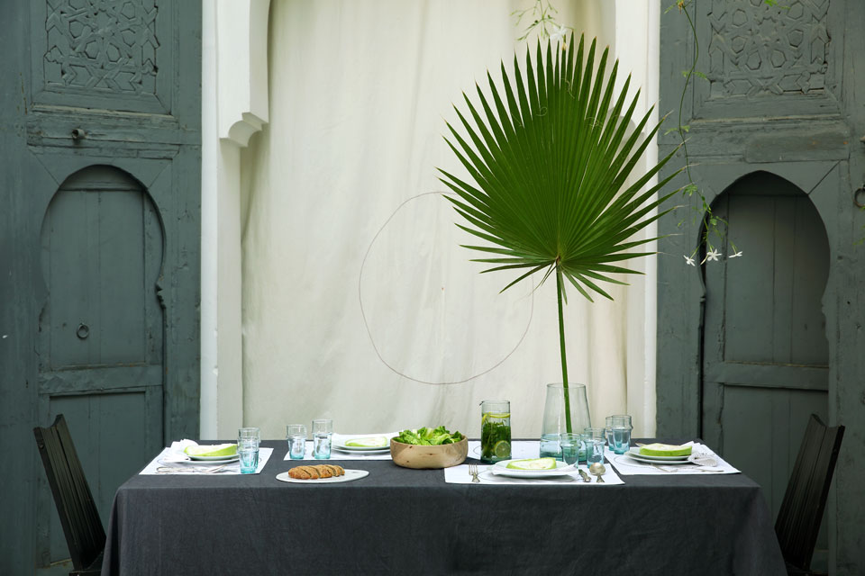 darkawa summer table riad table setting