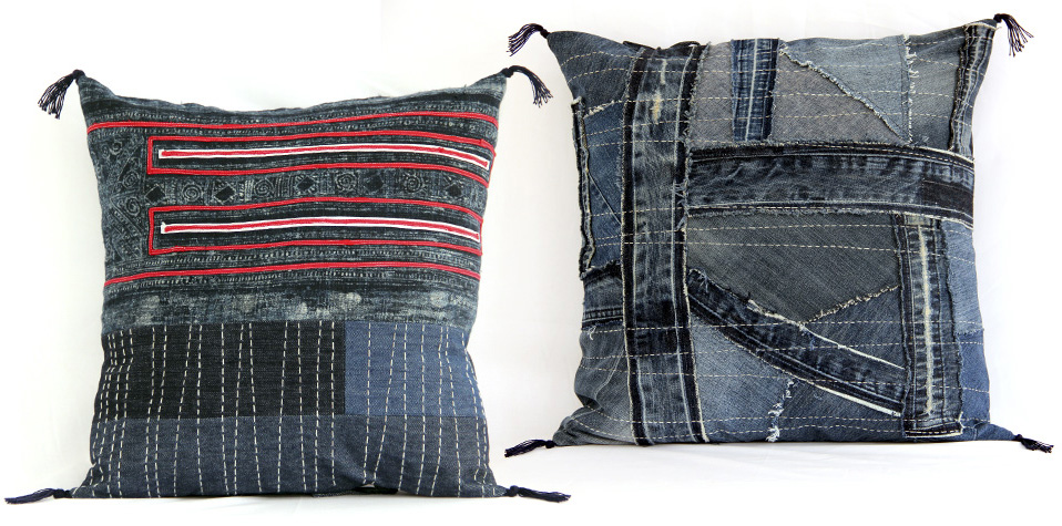 denim collection cushions mekong plus