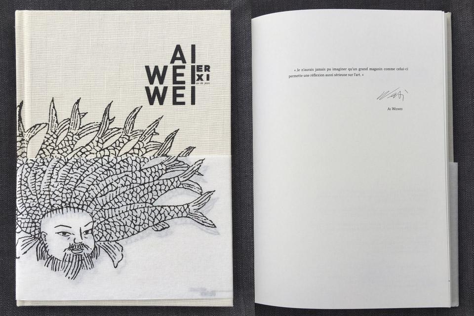 ai weiwei-book-er-xi-le-bon-marche-paris-cover