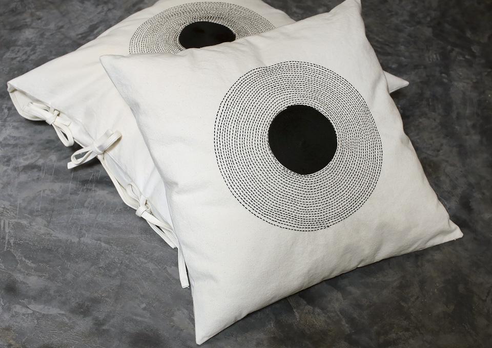 black embroideries valerie-barkowski-cushions-black-textile-collection-1
