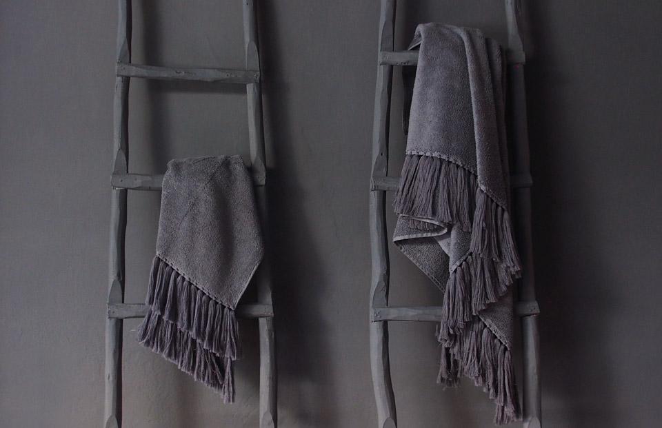 bath linen collection v barkowski grey terry