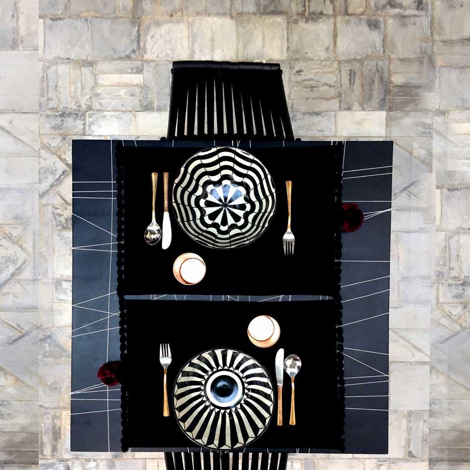graphic table styling valerie barkowski