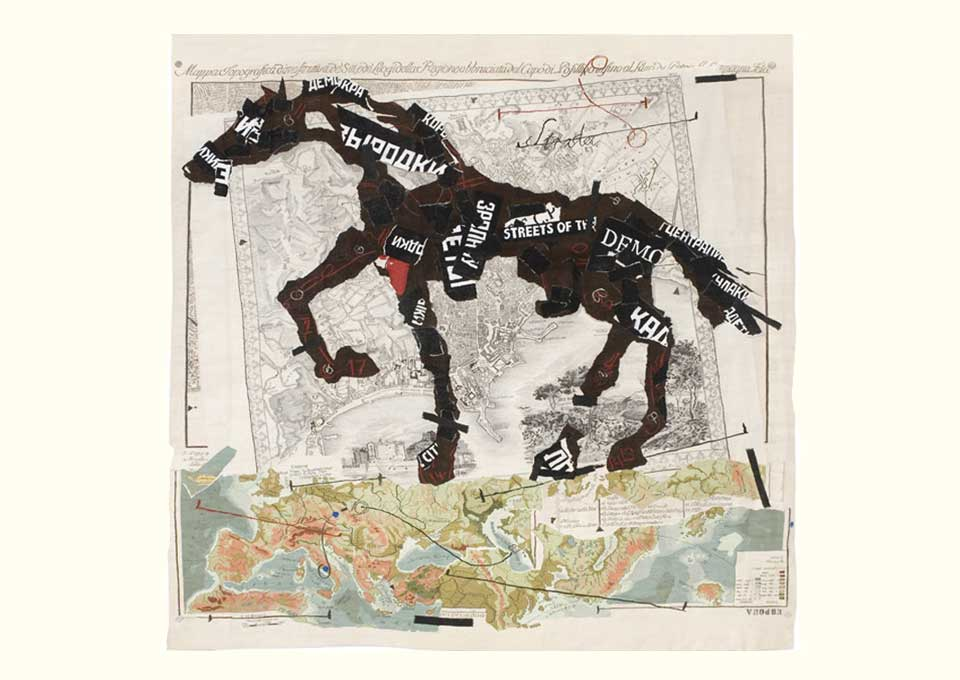 william kentridge tapestry