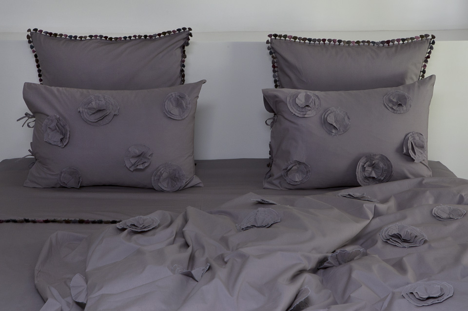 High end made to order home linen refined and timeless
