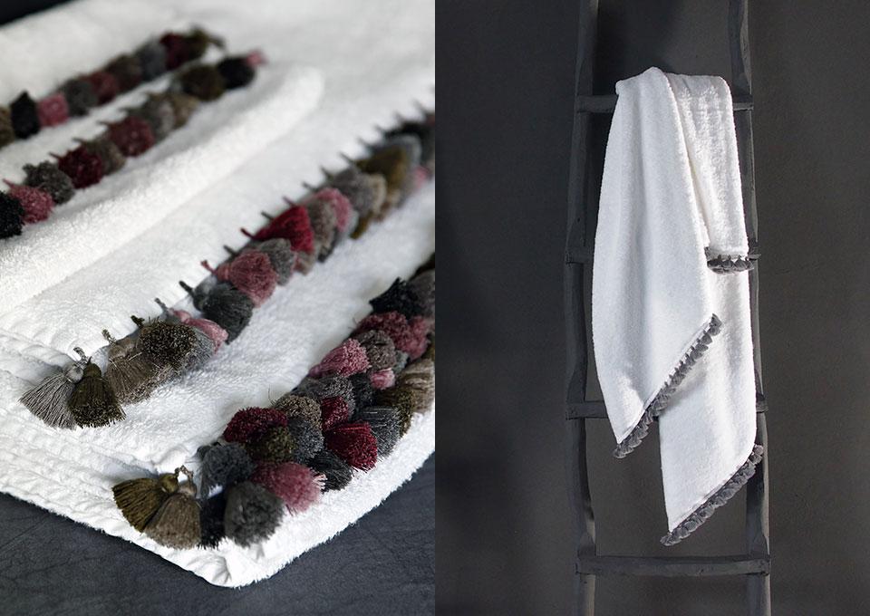 bath towel lamu handmade tassels v barkowski