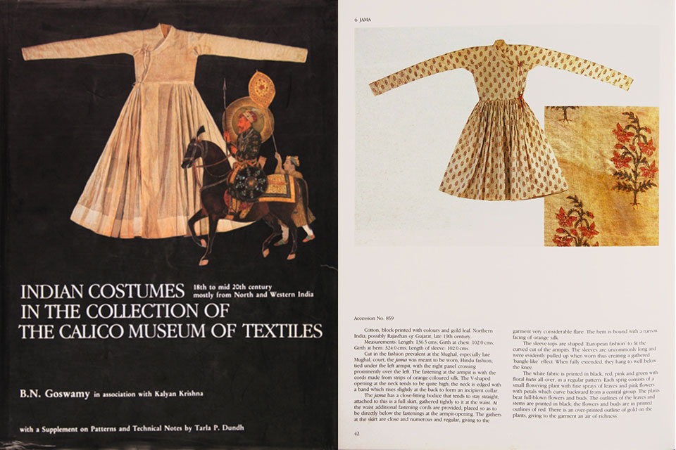 indian costumes calicot museum ahmedabad book