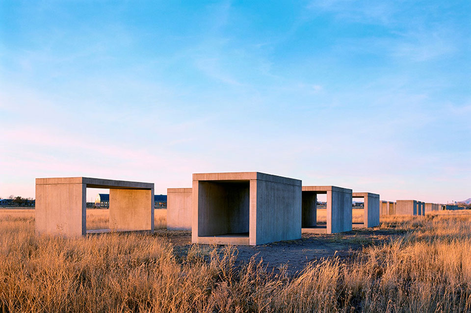 marfa donald judd land art