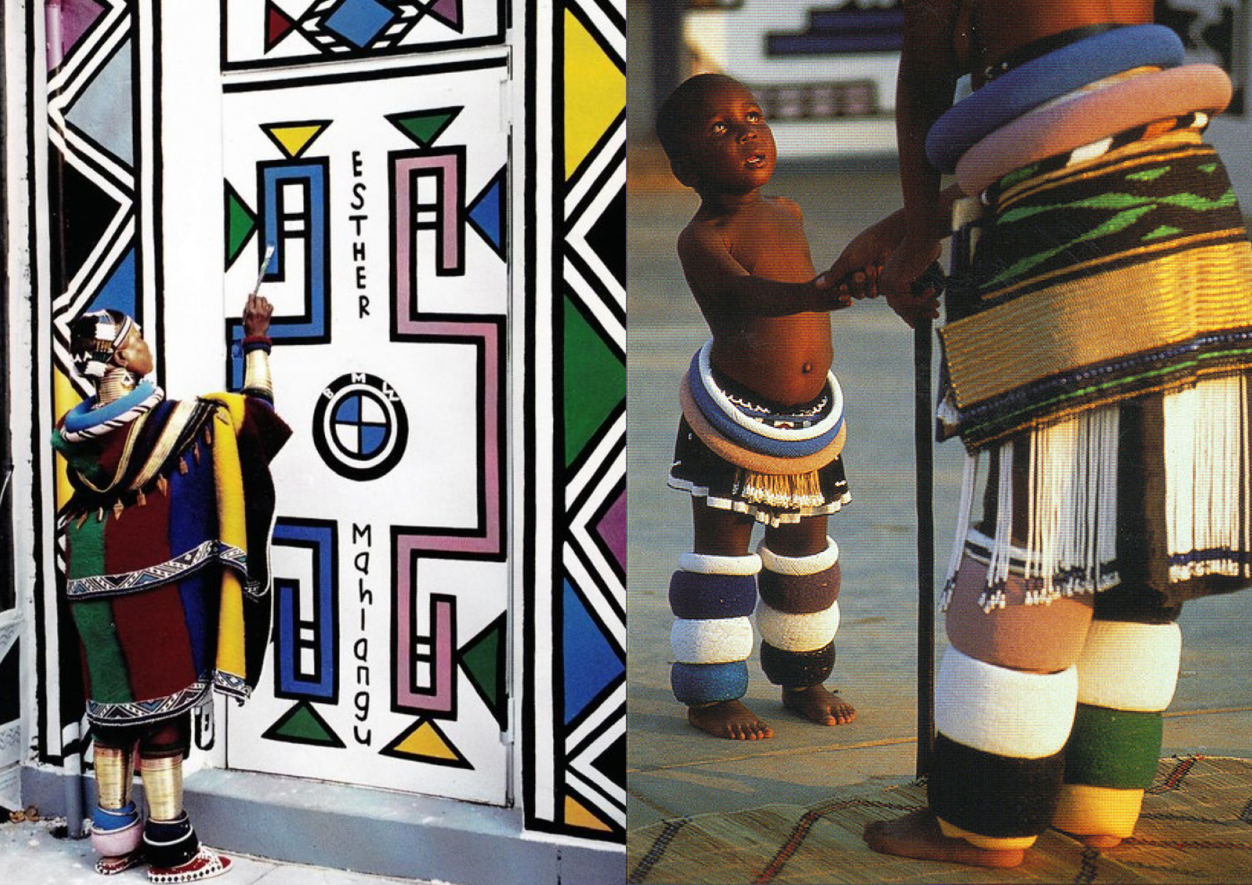 ndebele tribe painting