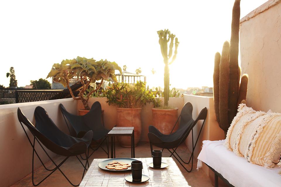 dar kawa riad terrace