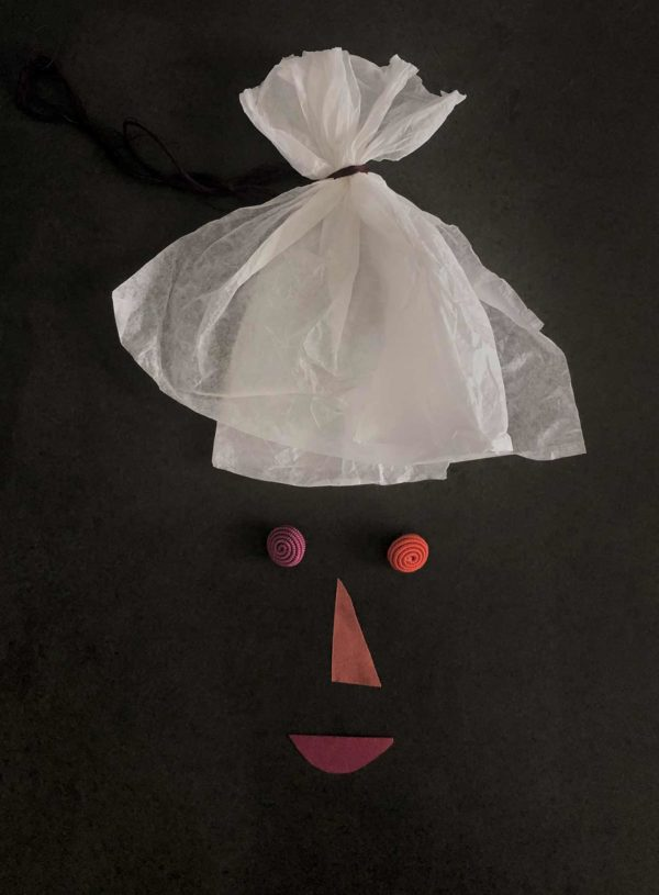 Mr.Ka Do paper man. Limited edition