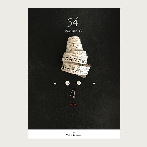 54+1 portraits book by Valerie Barkowski